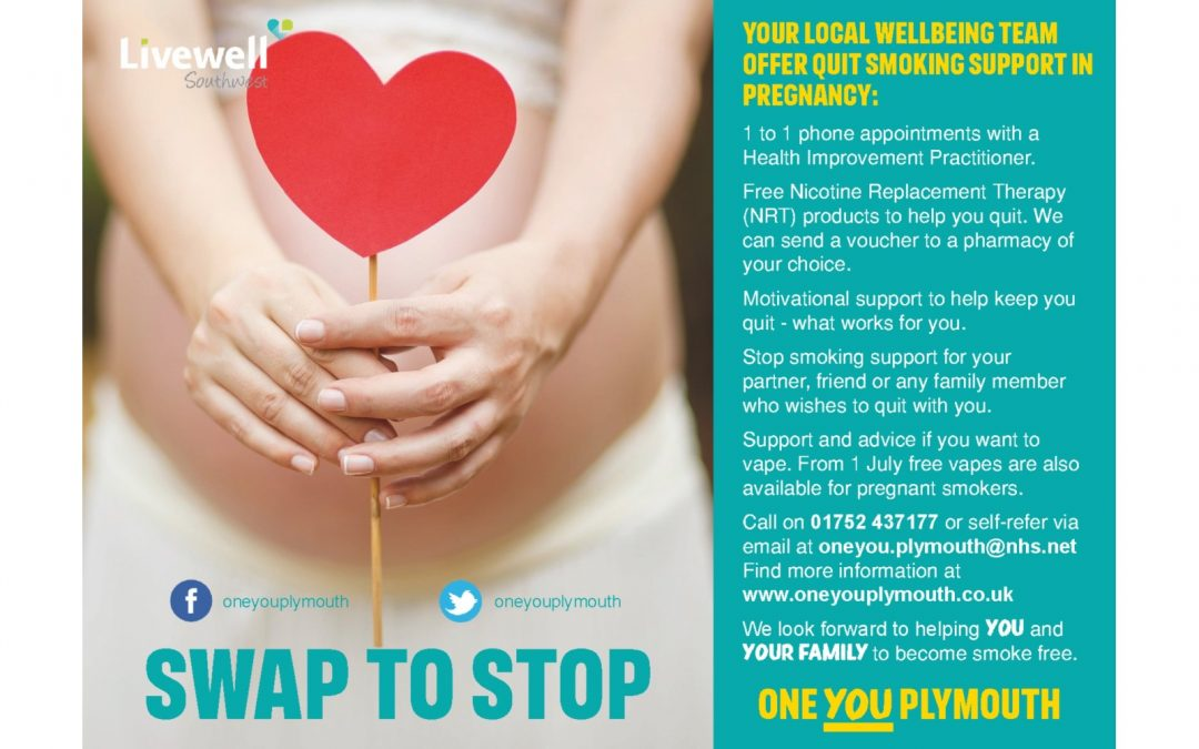 Swap to Stop in Pregnancy Launches … and more