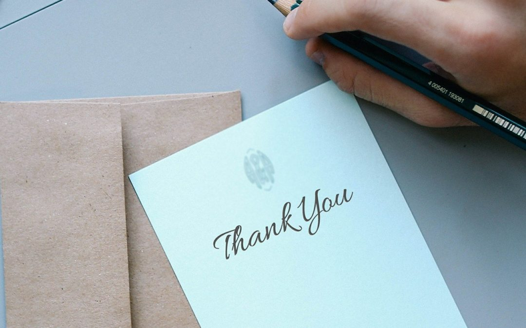 Don't forget about the little things – The practice of gratitude
