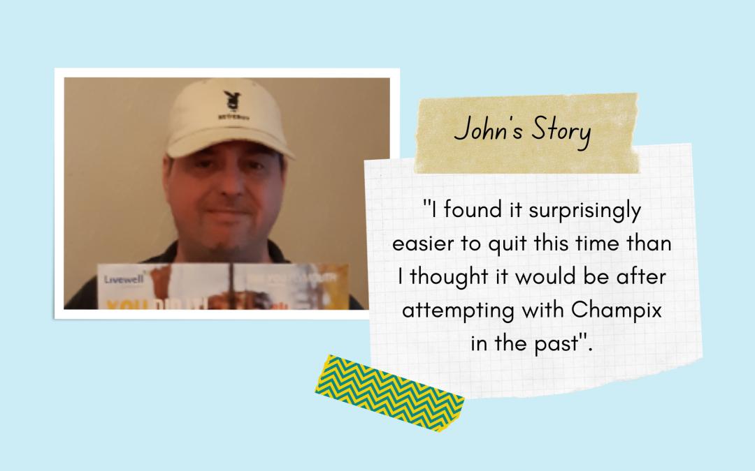 John Quits Smoking with Champix