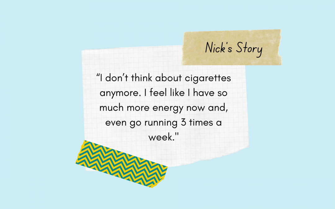 Nick Finds a Reason to Quit