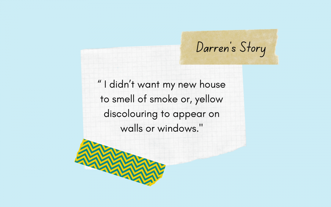 Darren Finds the Kick Start He Needed