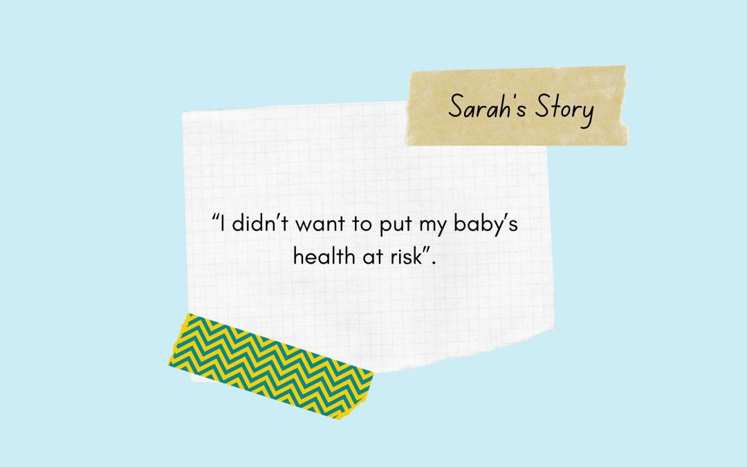 Sarah Quits During Pregnancy