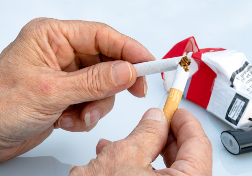 manage nicotine withdrawal