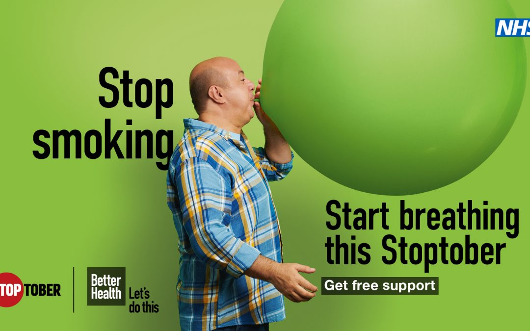 Smokers encouraged to take part in Stoptober, as they report smoking more during pandemic